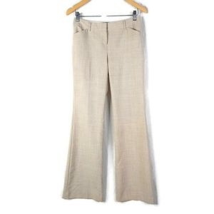 Body By Victoria Pants Womens 2 Tall Beige
